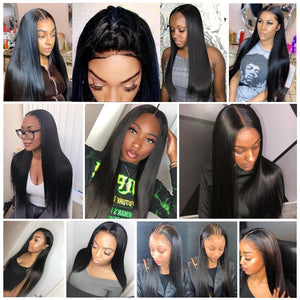 Silky Straight Brazilian 360 Lace Wig