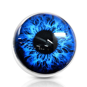 14G Eyeball 316L Surgical Steel Internally Threaded Dermal Anchor Top