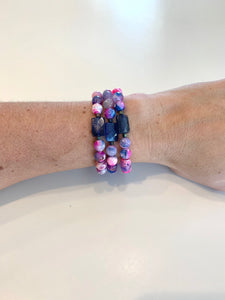 Navy Rock Candy (1 bracelet)