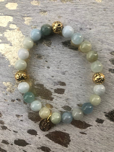 Clouds of Gold (1 bracelet)