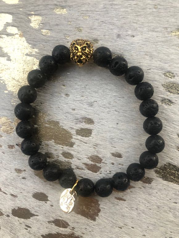 Women's Lava Rock (1 bracelet)