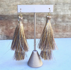 Golden Goddess Tassels
