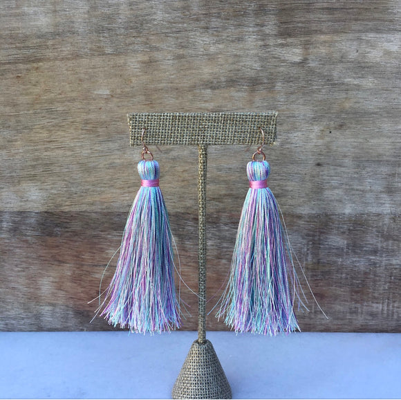 Cotton Candy Tassels