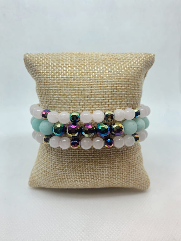 Metallic Mermaid Staxxx (3 bracelets)