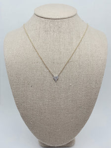 """Heart Be Still"" Necklace by Leva"