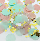Lil' Bit Cotton Candy Cross (1 bracelet)