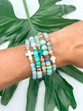 Blue Lagoon Mini Cross (1 bracelet)