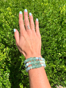 Sea Glass Waves (1 bracelet)
