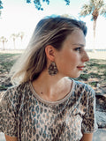 Leopard Lovin' Earrings
