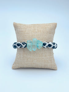 Blue Ice Animal Print (1 bracelet)