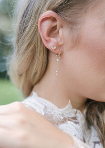 Stellar Diamond Star Earrings
