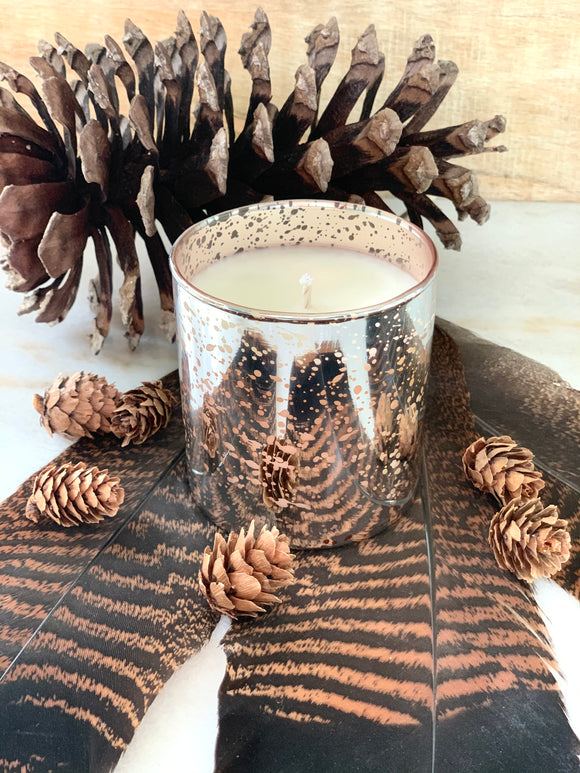 Sparkling Evergreen Candle