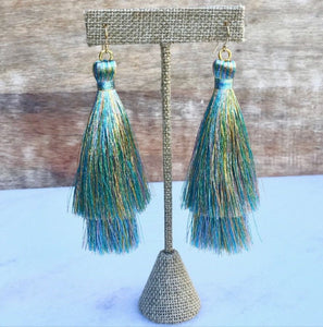 Mermaid Double Tassels