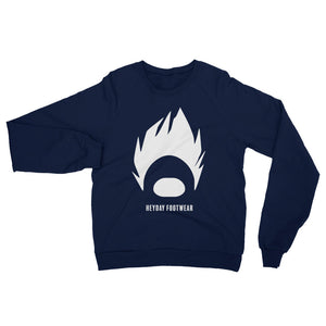 Navy DBZ Unisex California Fleece Raglan Sweatshirt