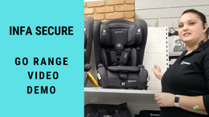 Infa Secure Go Range of Seats Video Demo