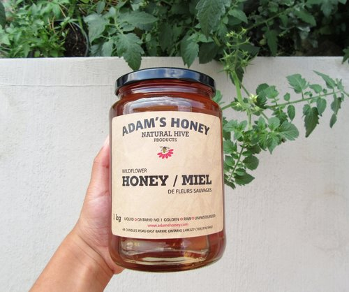 Pure Natural Wildflower Bee Honey 1KG