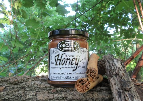 Organic Cinnamon Honey 330G