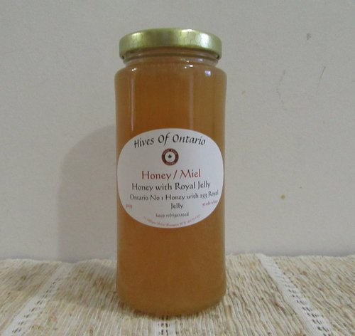 Honey With Royal Jelly 500G
