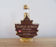 Load image into Gallery viewer, Maple Syrup Leaf Shape 50ML (24 Jars)