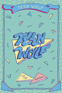 TEEN WOLF LOGO PIN