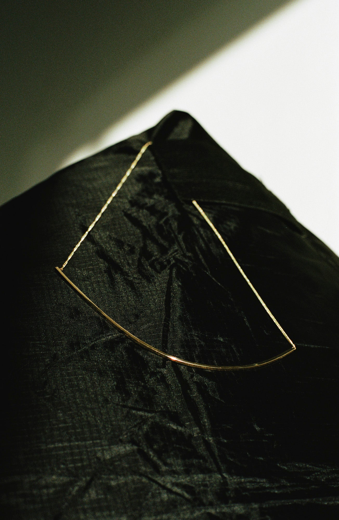 Half L Diamond Necklace