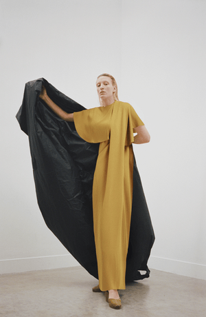 Cape Column Dress