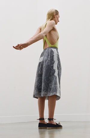 Side Drape Skirt