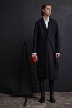 Point Drape Coat