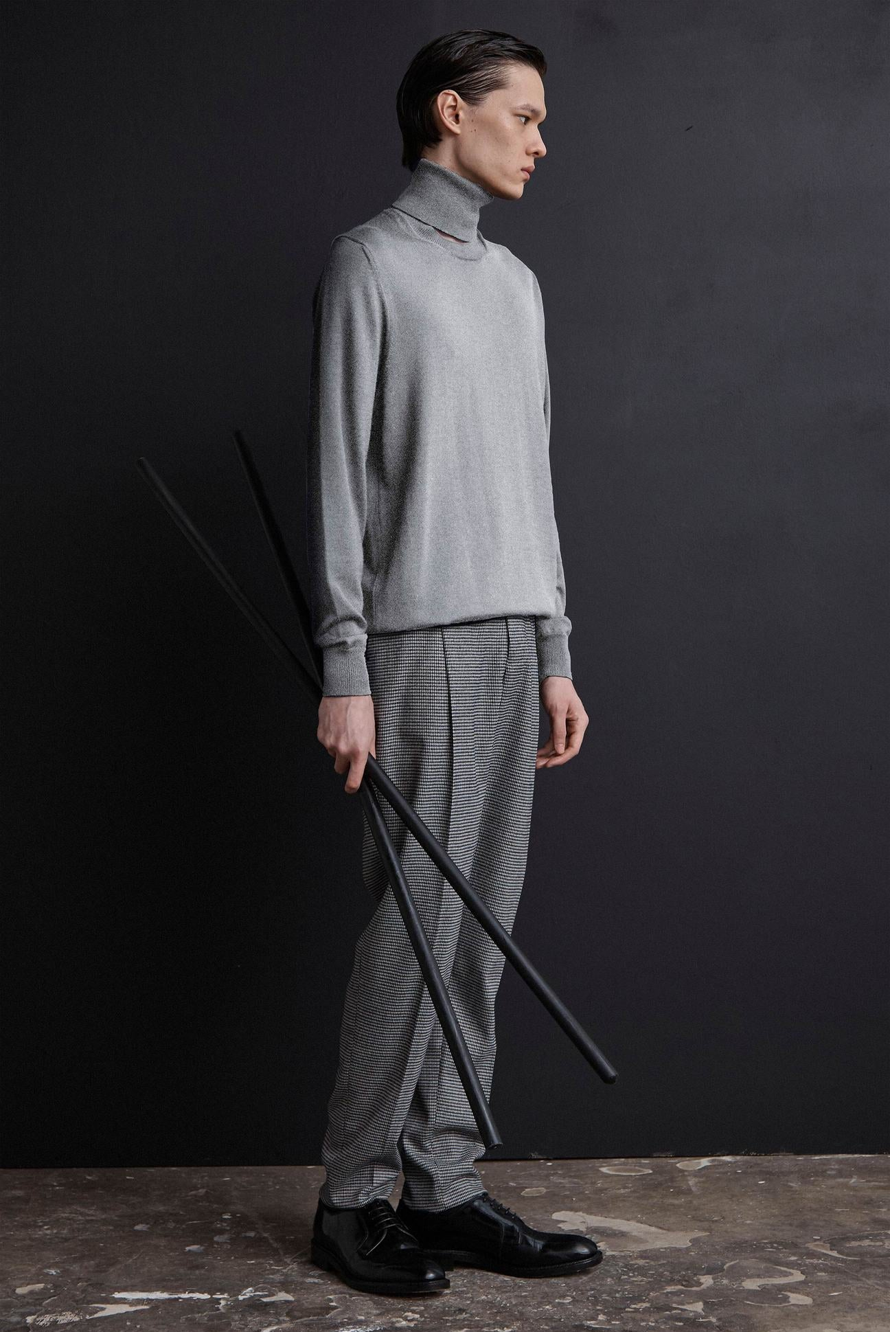 Signature Split Neck Jumper