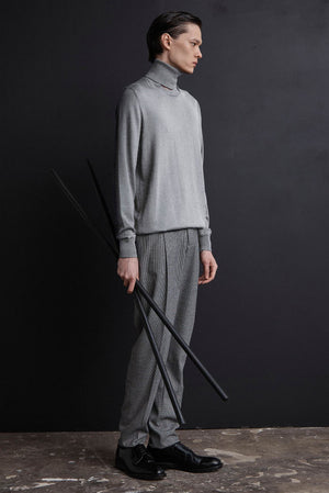 Signature Split Neck Cashmere Jumper