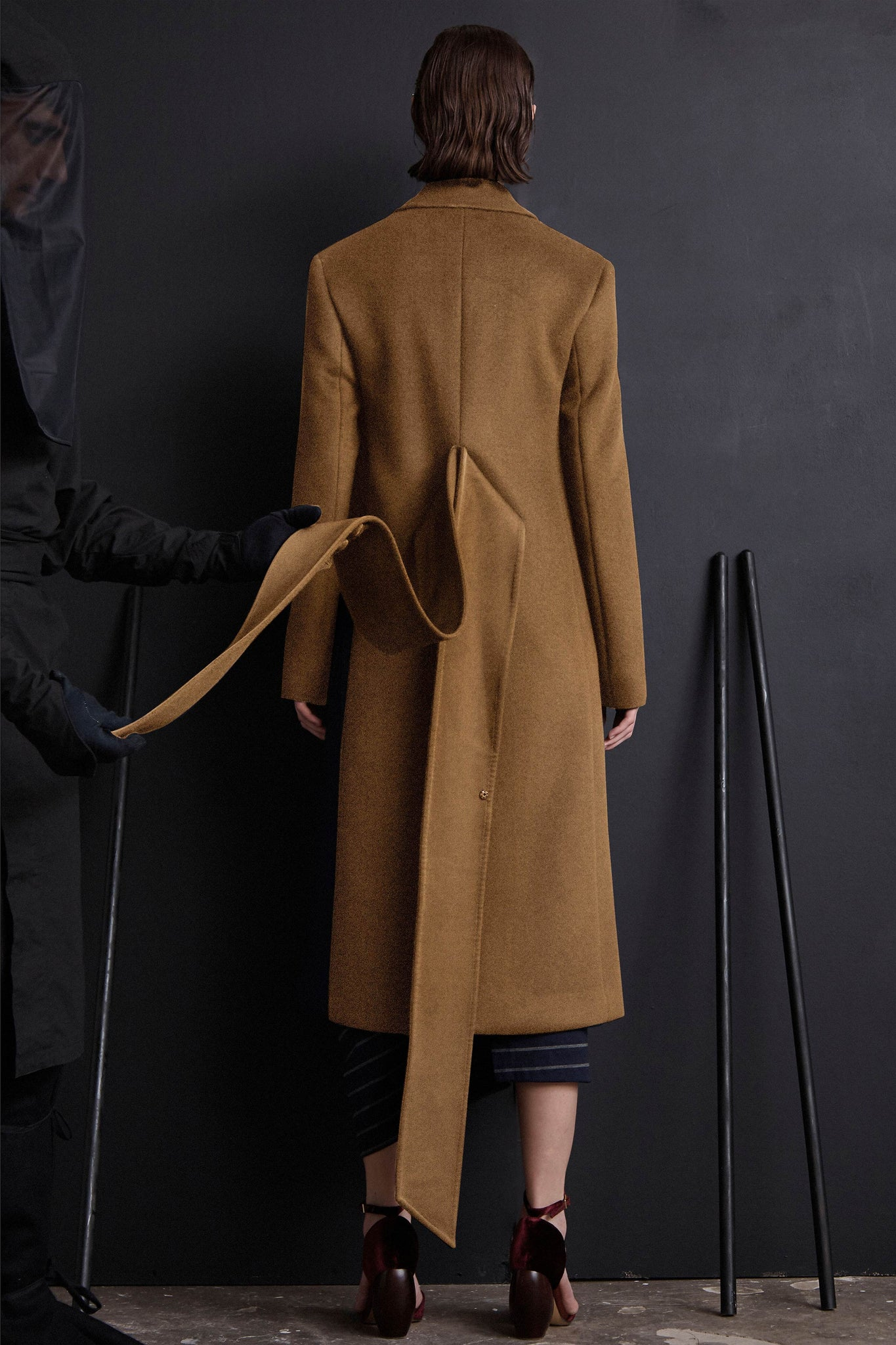 Wrap Belt Coat