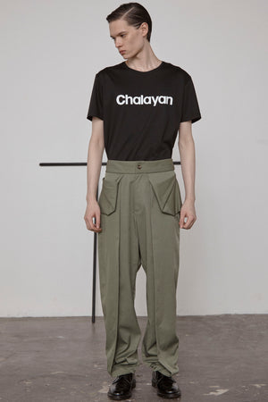 Fold Pocket Trousers