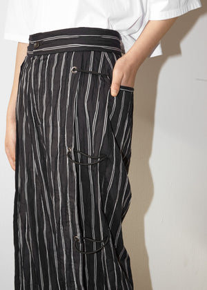 Rope Panel Trouser