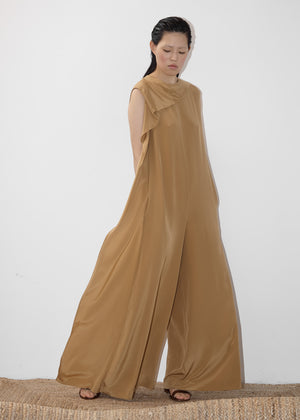 Neck Drape Jumpsuit