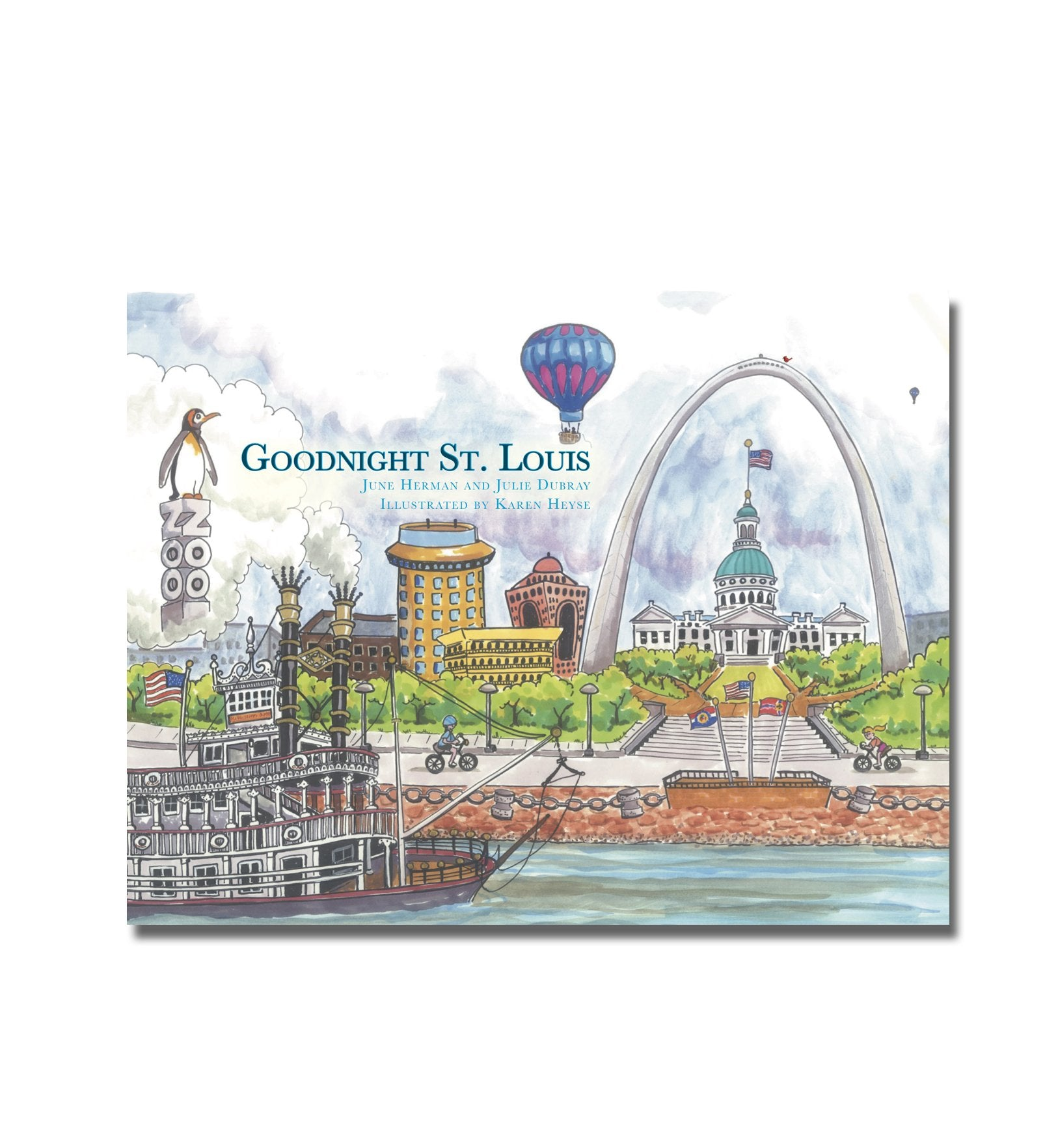 Goodnight St. Louis Hardcover Book
