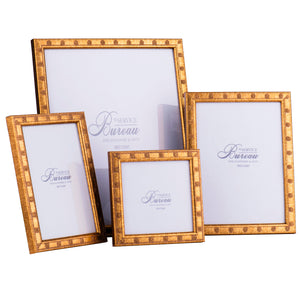 Gold Daisy Picture Frames