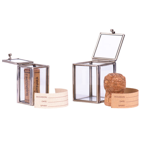 Champagne And Wine Cork Safes
