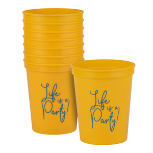 Life Is A Party! Party Cups
