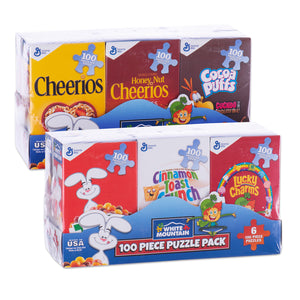 Mini Cereal Box Puzzles