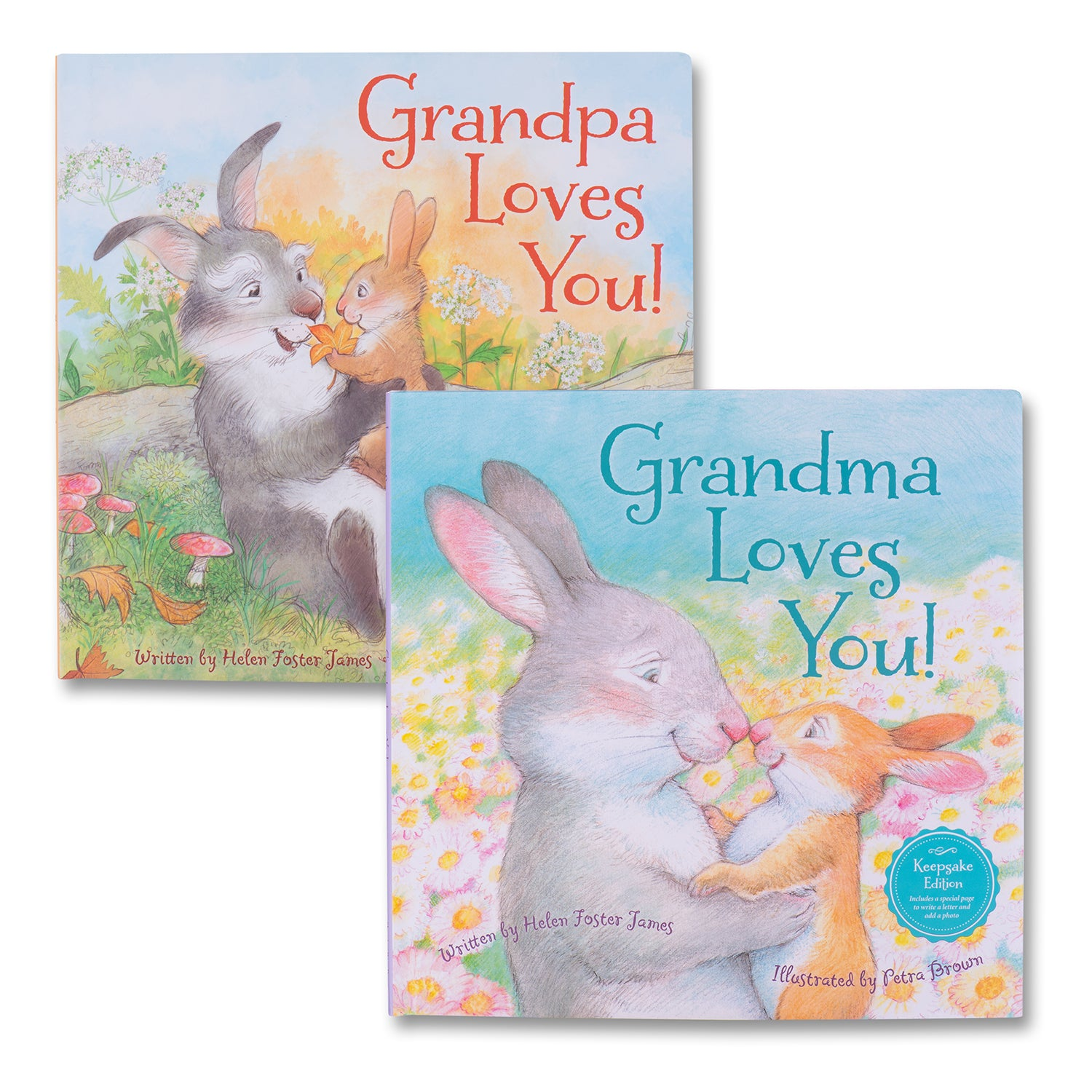 Grandma & Grandpa Loves You Book