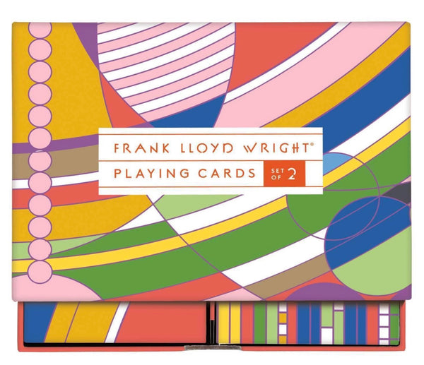 Frank Lloyd Wright Playing Card Set