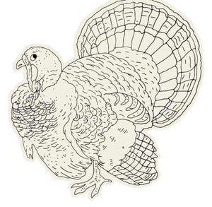 Coloring Turkey Placemat