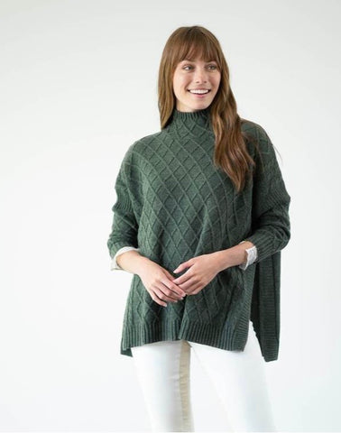 Lisbon Traveler Sweater in Hazel Green