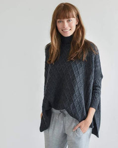 Lisbon Traveler Sweater in Storm Navy