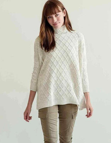 Lisbon Traveler Sweater in Sea Salt