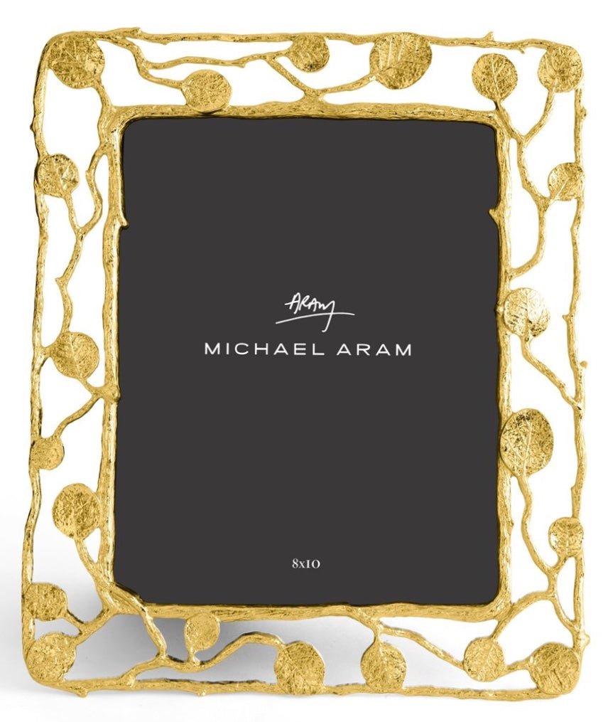 Aram Botanical Leaf Gold 8x10 Frame
