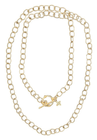 Laurel Gold Necklace