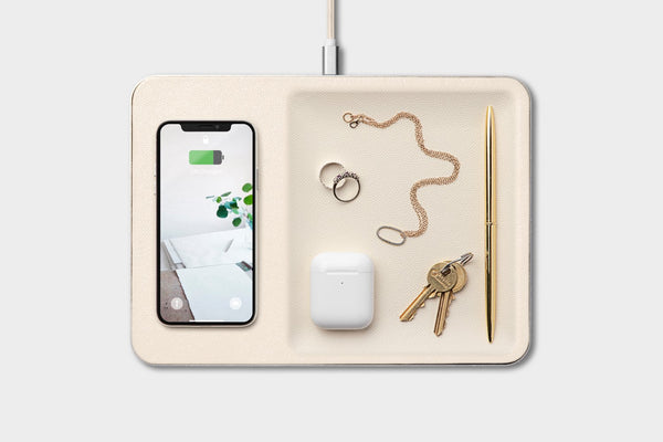 Catch:3 Wireless Charging Device and Accessory Tray