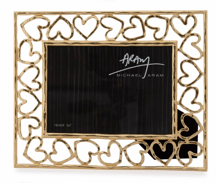 Gold Heart Frame
