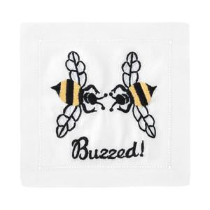 Buzzed Linen Cocktail Napkins